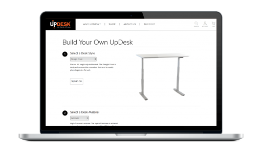 UpDesk Custom Product Builder