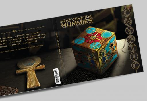 Here Come The Mummies Cryptic Album Front-Back