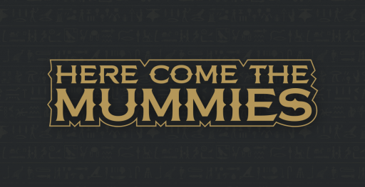 Here Come The Mummies Revised Logo