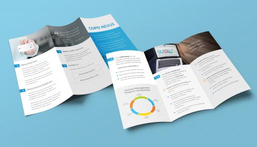 Trifold Sales Brochure for Nexus Home